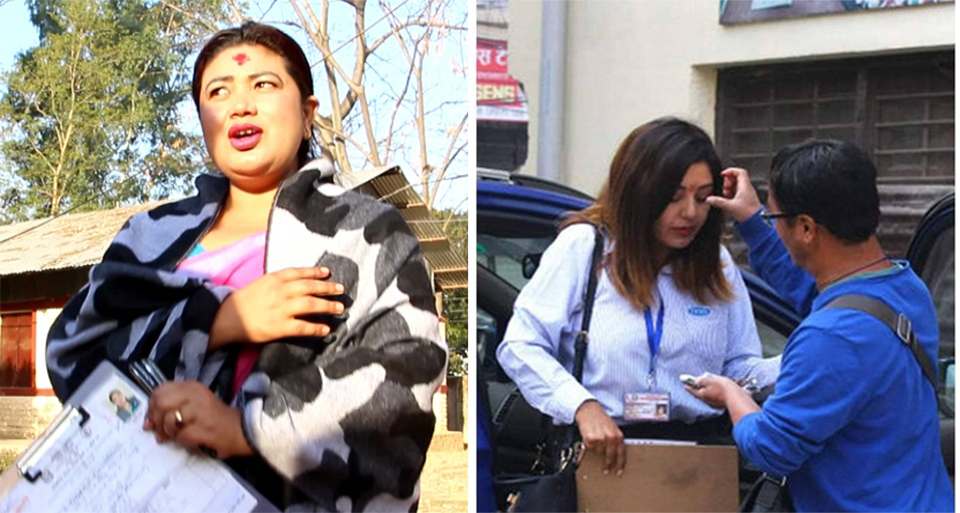 Better late than never for lawmaker Chaudhari, actress Manandhar