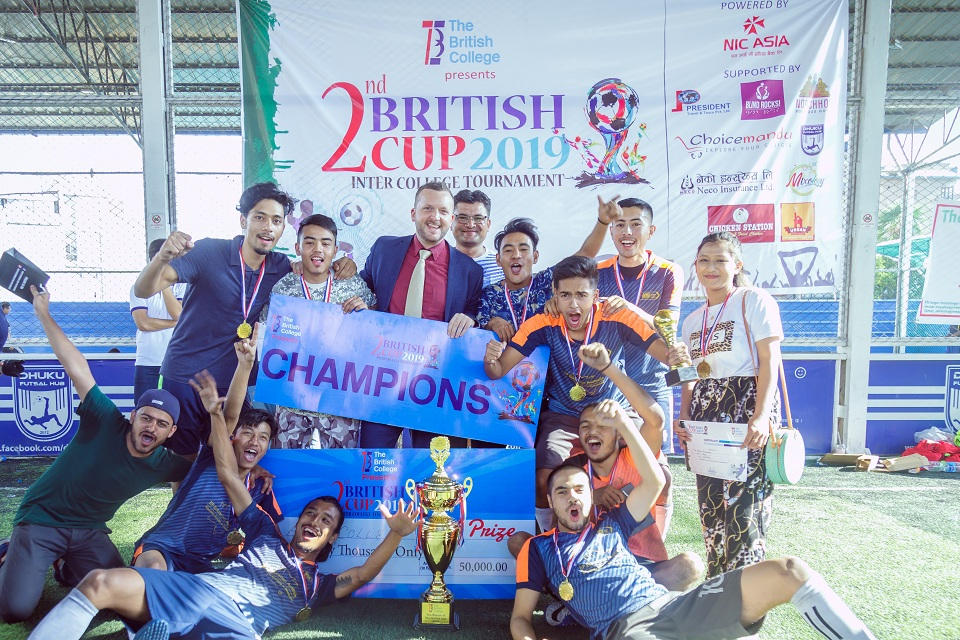 2ndThe British Cup: Inter College Futsal Tournament concludes