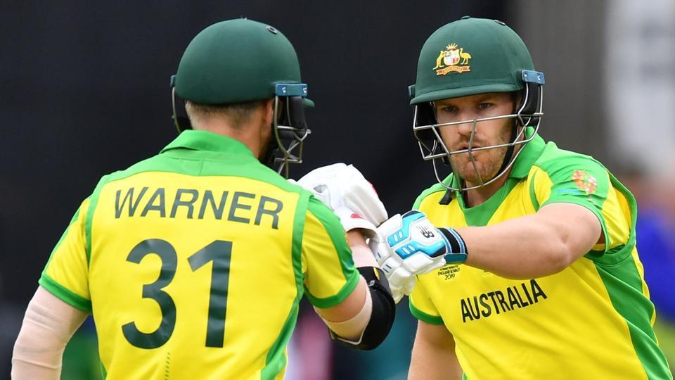 Finch powers Australia to 334-7 v Sri Lanka
