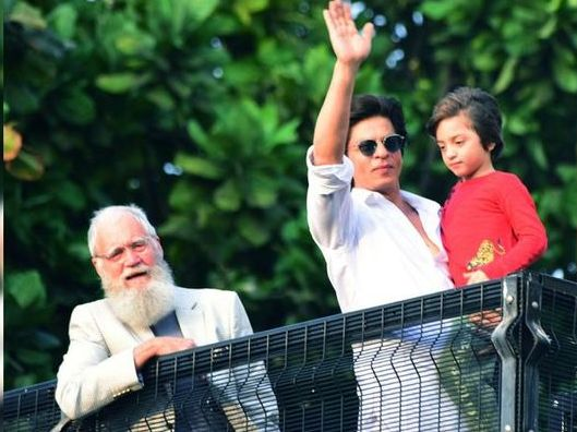 David Letterman joins Shah Rukh Khan for Eid