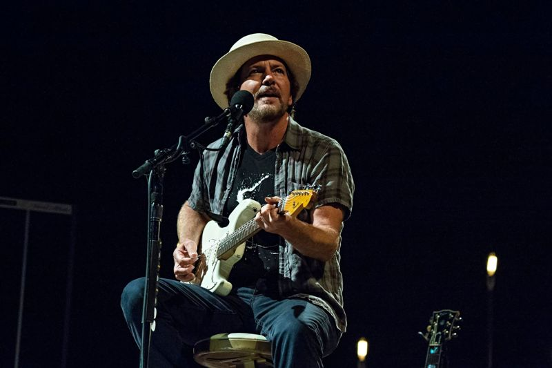 Pearl Jam frontman Eddie Vedder reunites with fan he met on tour almost 27 years ago
