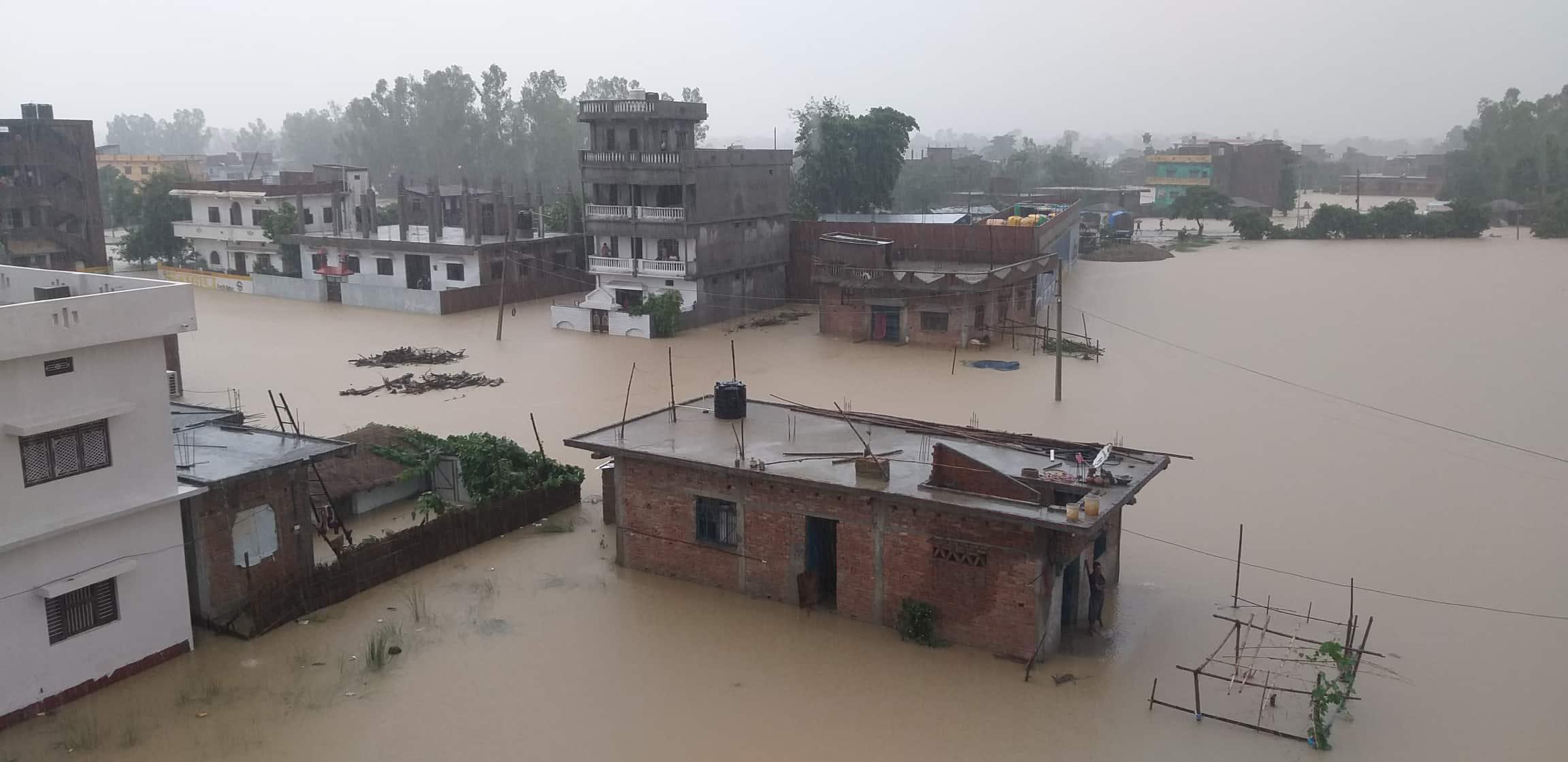 Ex-PM Nepal's home flooded amid heavy rainfalls