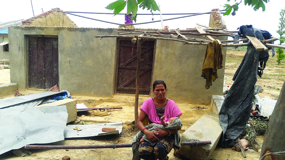 Kailali struggling to recover from last week's storm