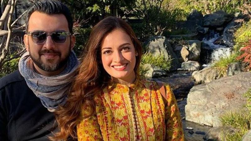 Dia Mirza announces separation from husband Sahil Sangha