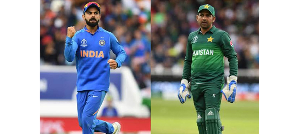 Rain showers expected during India vs Pakistan World Cup clash