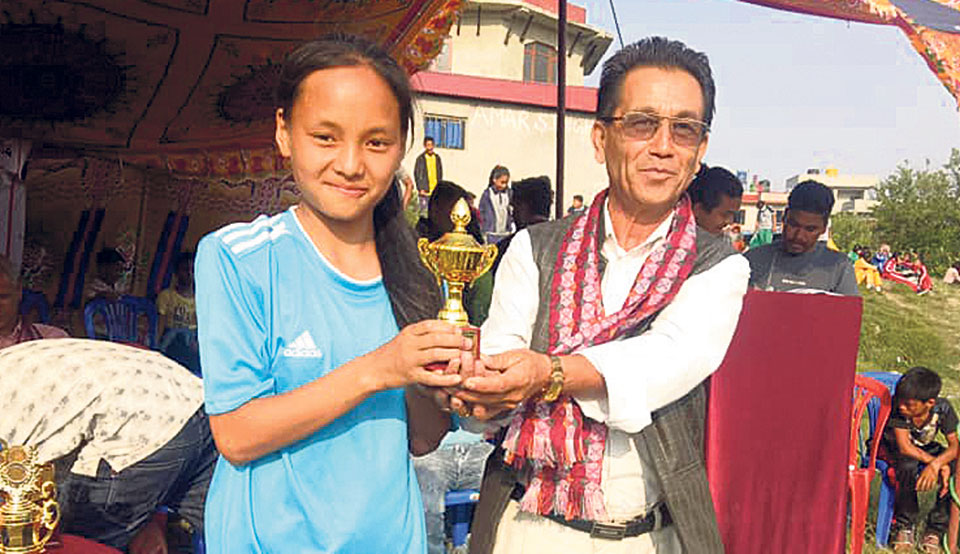 Creative, Trikon win Kageshwari Inter-School Tournament