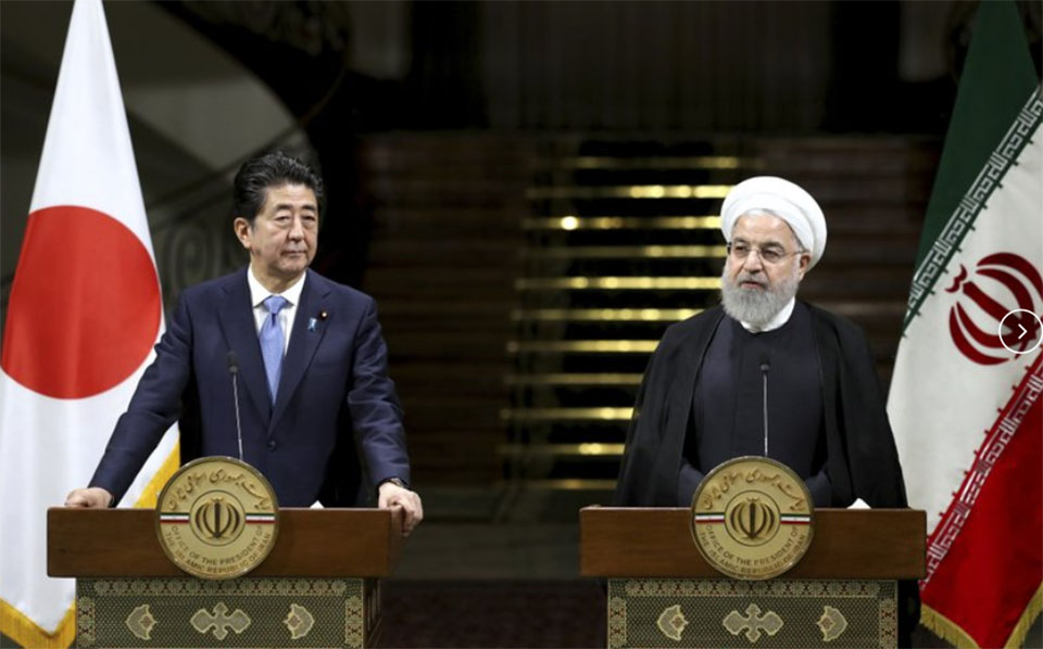 Japan premier warns US, Iran 'accidental conflict' possible