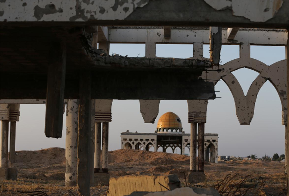 Scars on Middle East landscape bear witness to past peace failures