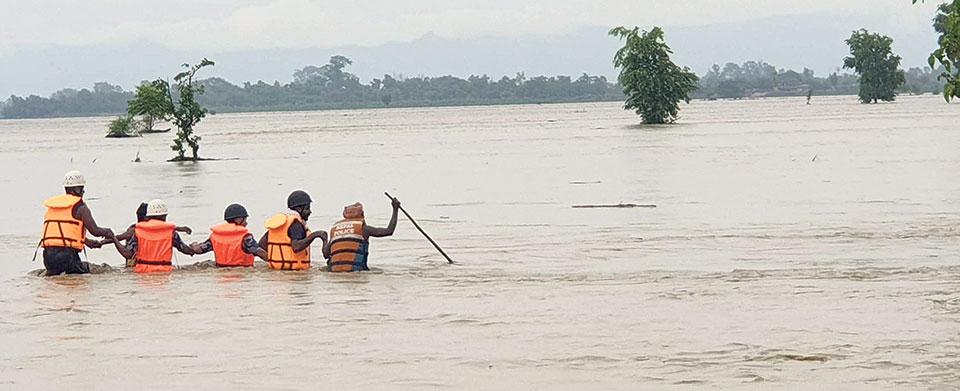 Highways linking Kathmandu Valley blocked