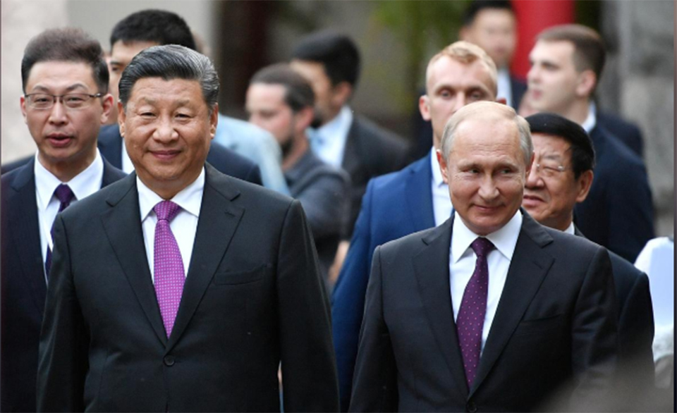China's panda diplomacy puts a smile on 'best friend' Putin's face