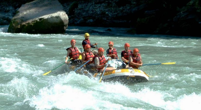 Rafting halted in Kaligandaki with the start of monsoon