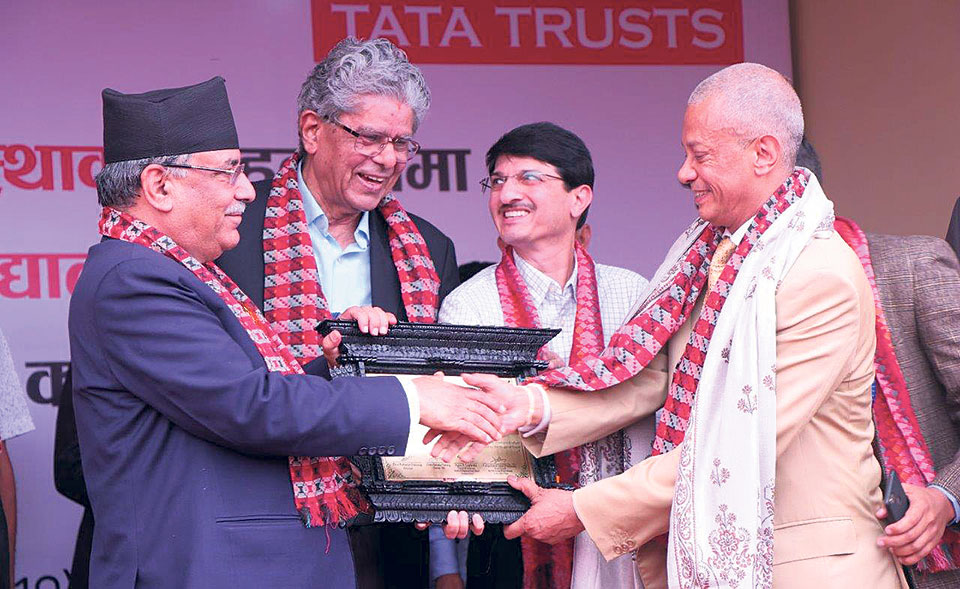 Tata Trusts hands over school building
