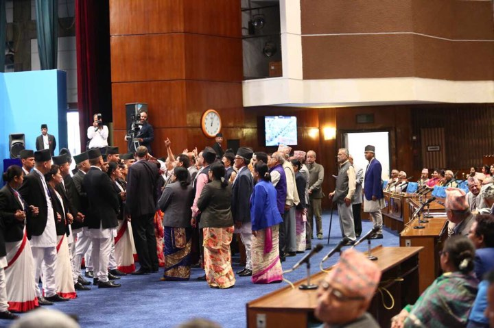 House adjourned as NC lawmakers obstruct parliament meeting
