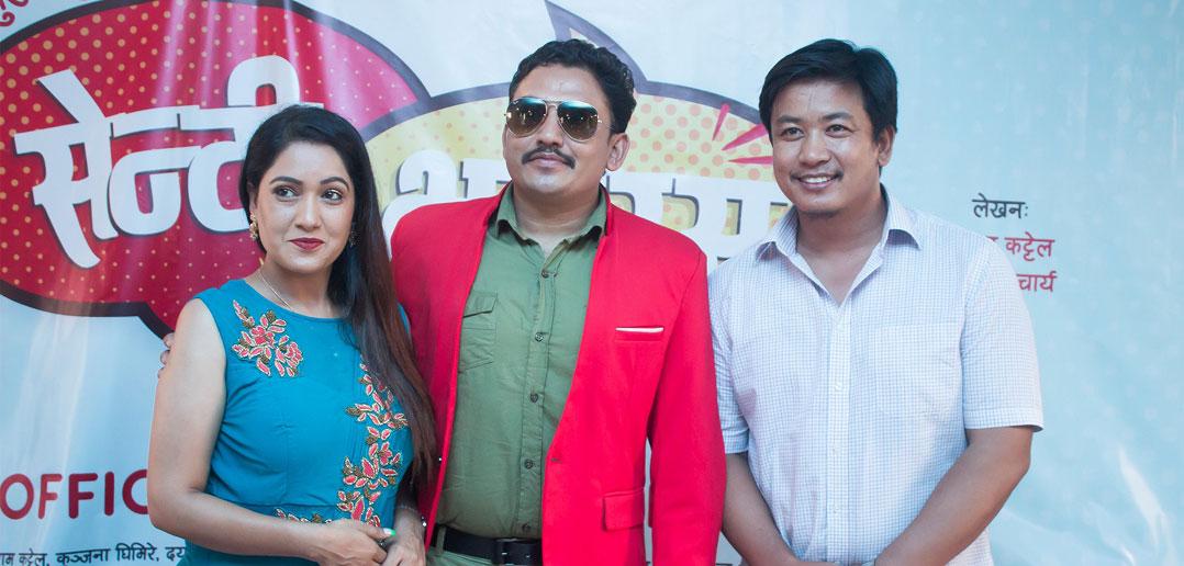 Dhurmus and Suntali debuting as movie producers
