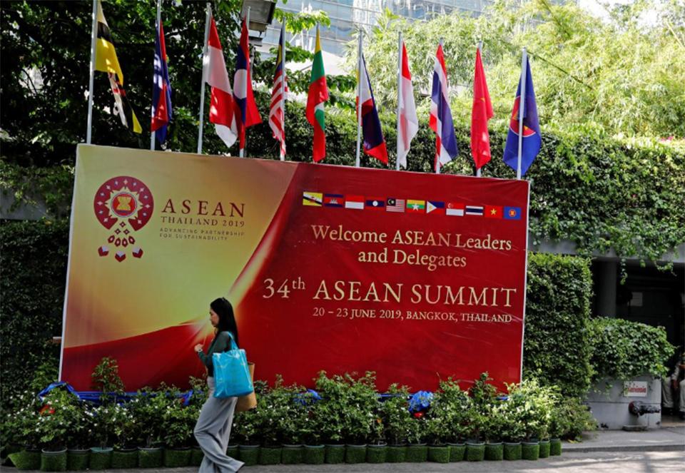 Southeast Asian leaders open summit in Bangkok