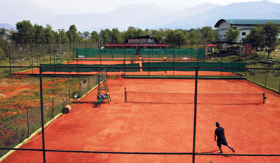 Construction of Pokhara tennis court to resume this week