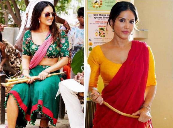 Sunny Leone goes De-Glam for 'Koka Kola'