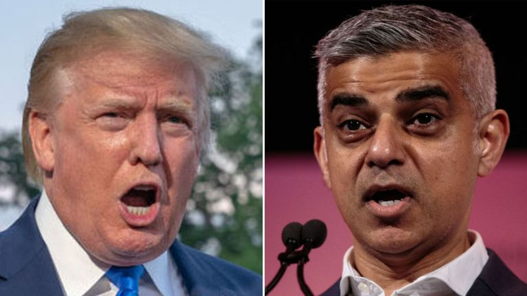 Trump calls London mayor a 'disaster' after a spate of killings