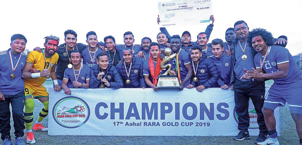 Three Star lifts its fifth Aaha Rara title