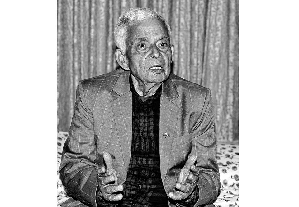 Four-time finance minister Bharat Mohan Adhikari dies
