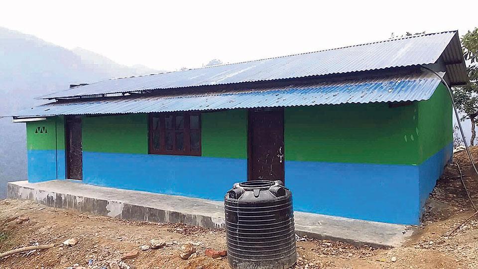 Chepangs get a community building