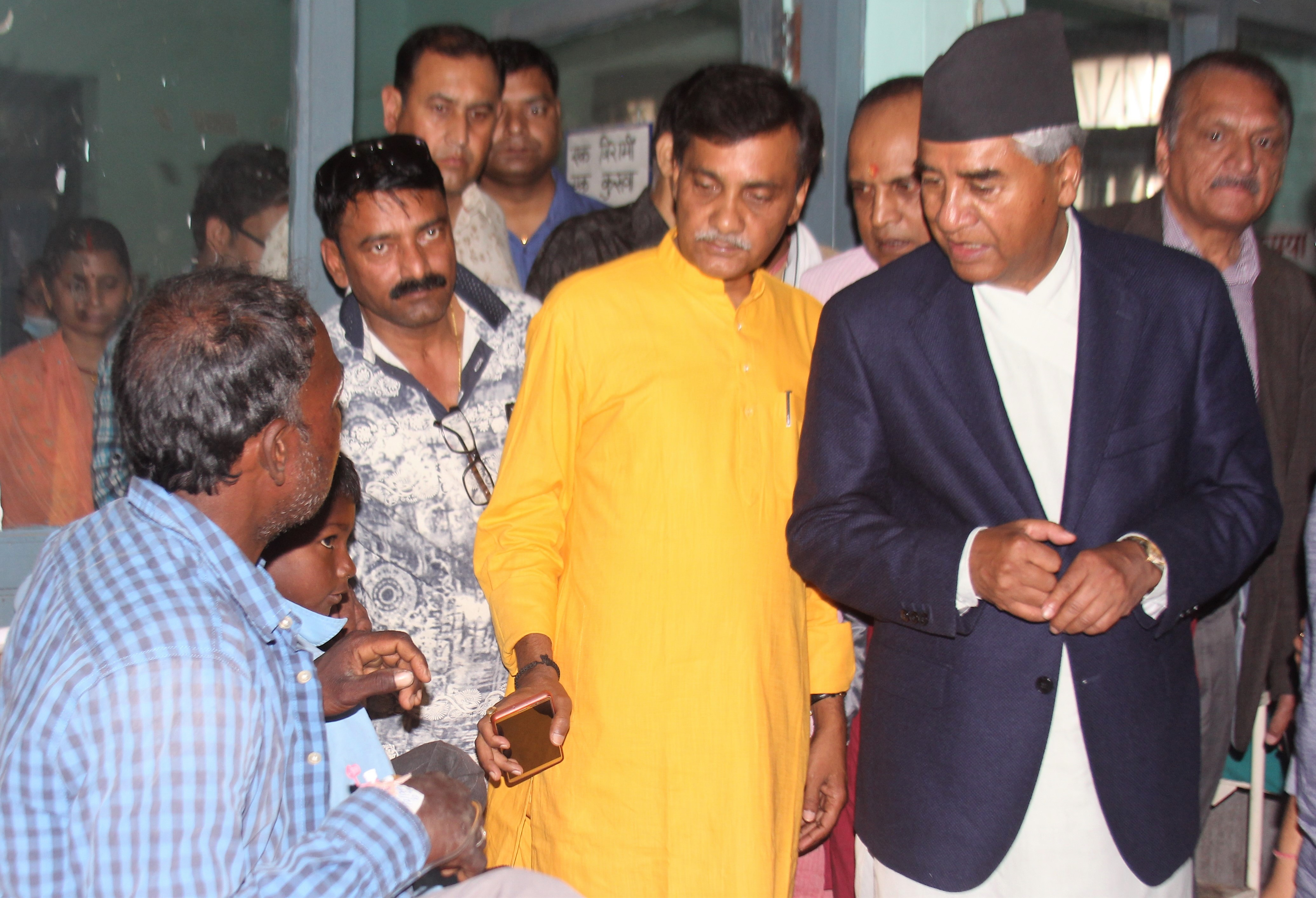 NC President meets storm victims in Parsa