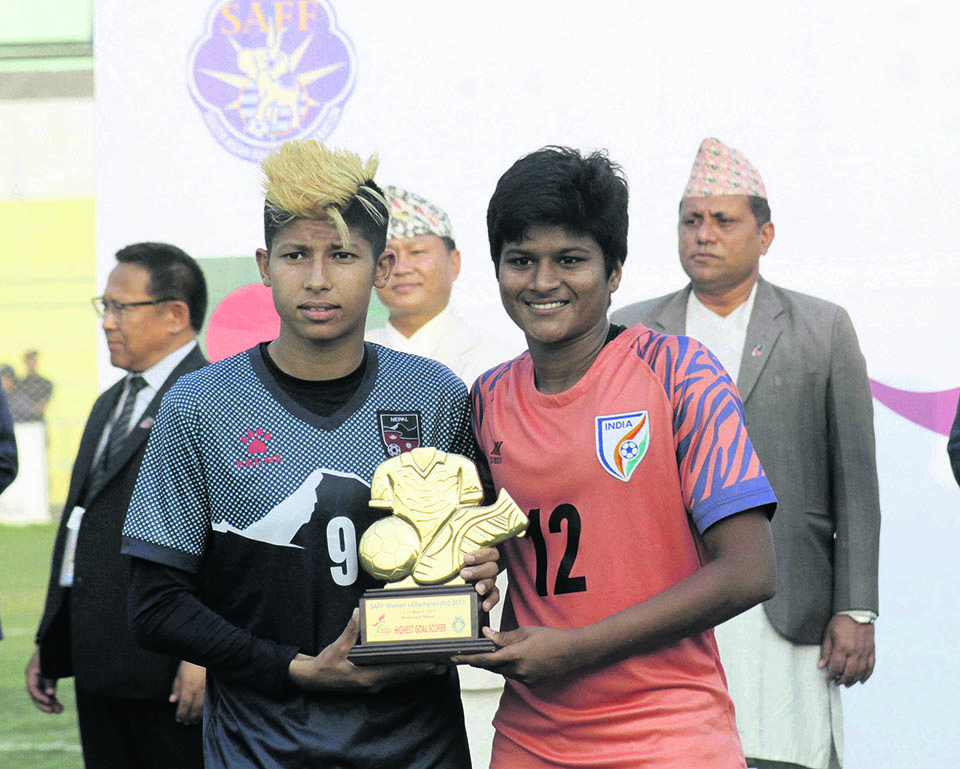 Nepal loses fourth final to India in five editions