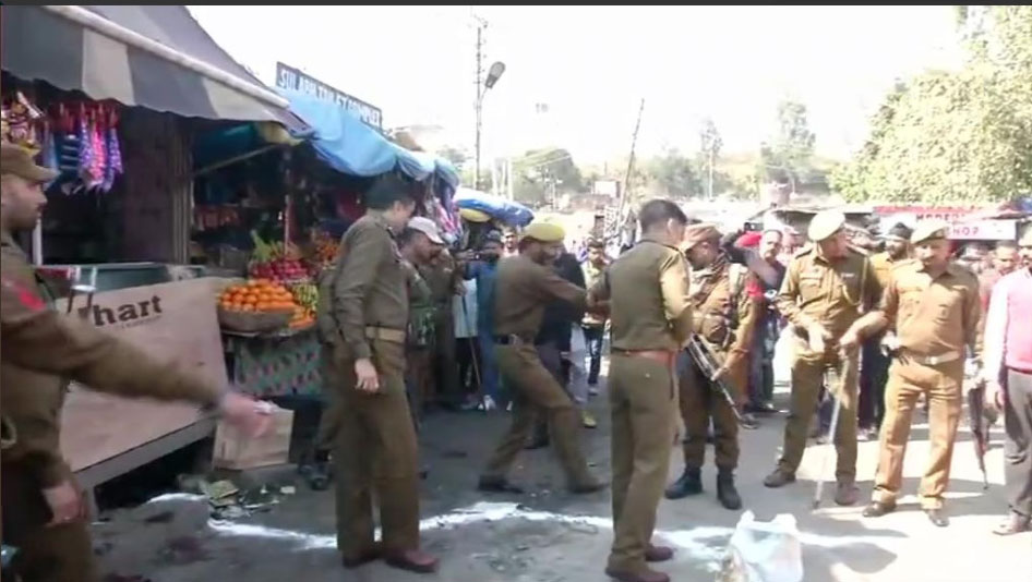 Blast in India's Jammu and Kashmir wounds at least 18: police