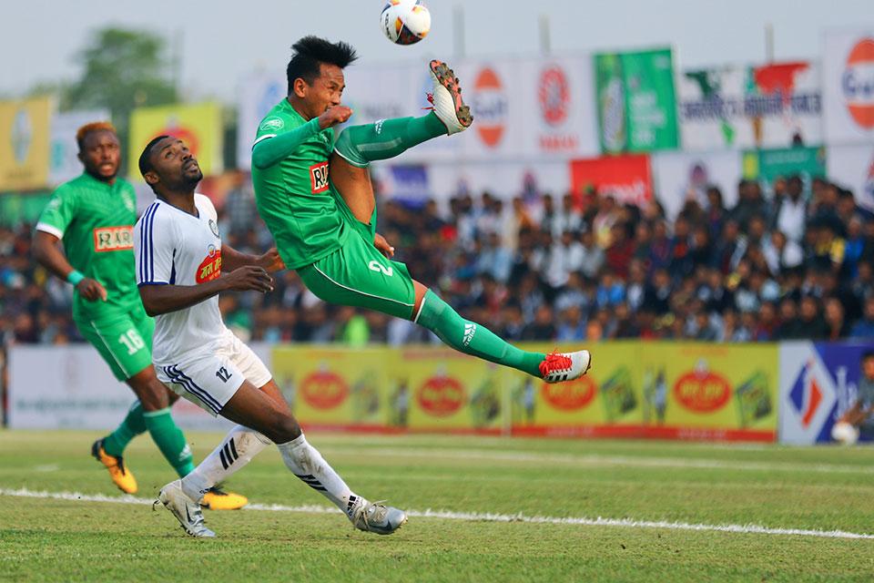 Jhapa XI beats Sahara to reach quarters