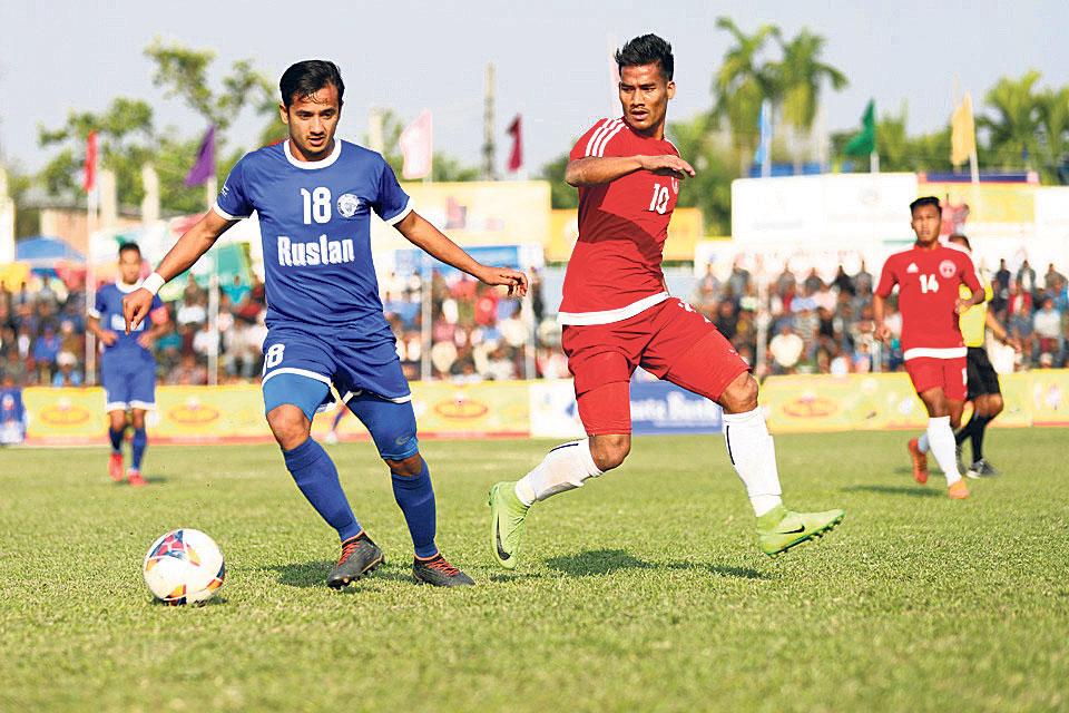 Three Star advances into Jhapa semis  after tiebreaker win
