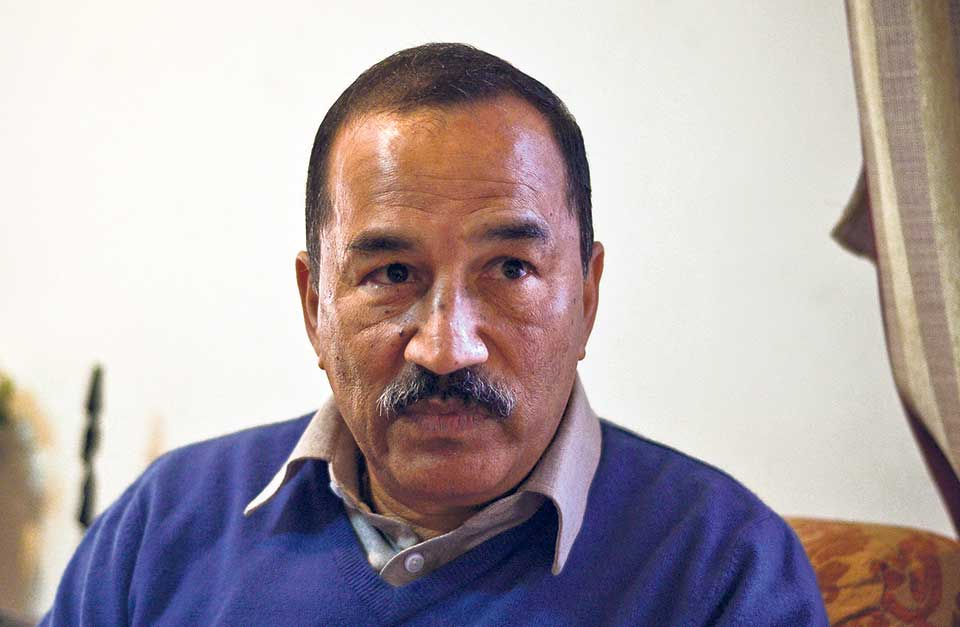 'Joining Dahal govt was strategic blunder'