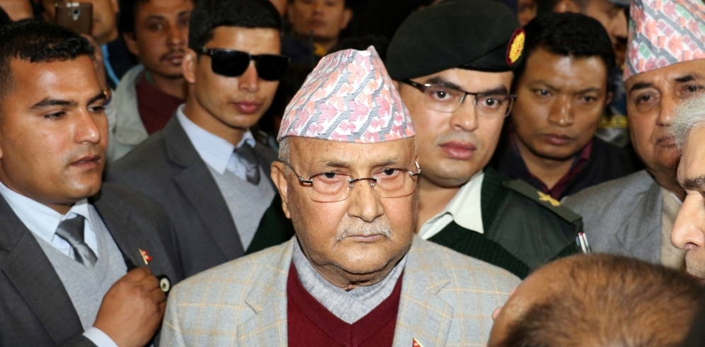 Prime Minister Oli to visit storm-hit Bara today