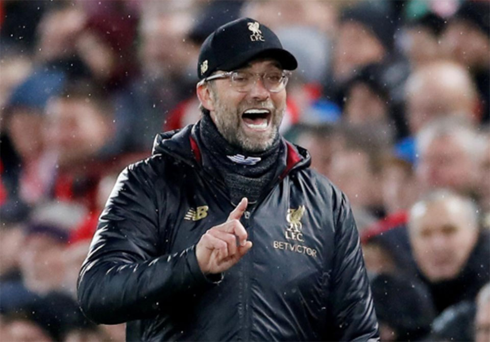 Klopp fired up as Liverpool and Man City head into run-in