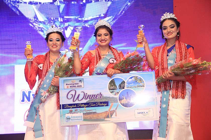Nishu crowned as 'Nursing Idol 2019'