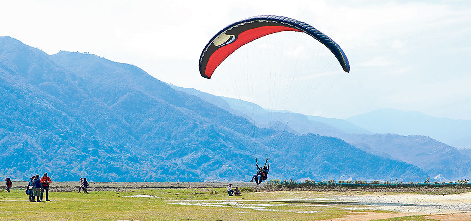 Paragliding included for the first time in National Games