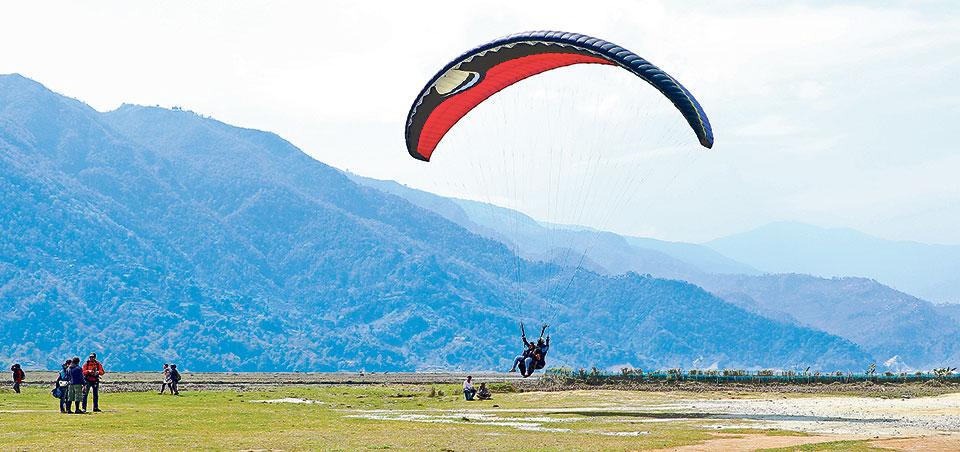 Pokhara to ban paragliding companies not paying renewal fees