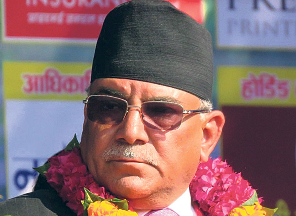Failed constitution amendment bid was made at the behest of Gautam: Chairman Dahal