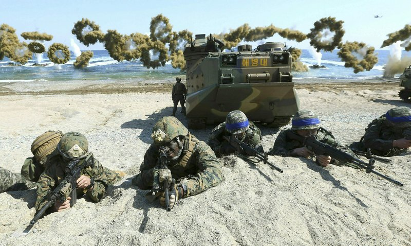 SKorea, US end springtime military drills to back diplomacy
