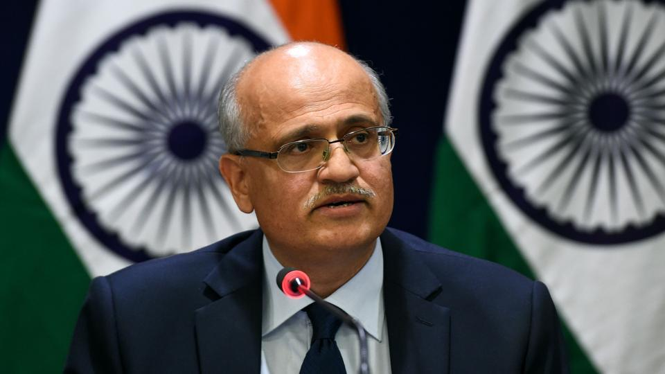 Indian Foreign Secretary arrives in Kathmandu on two-day visit