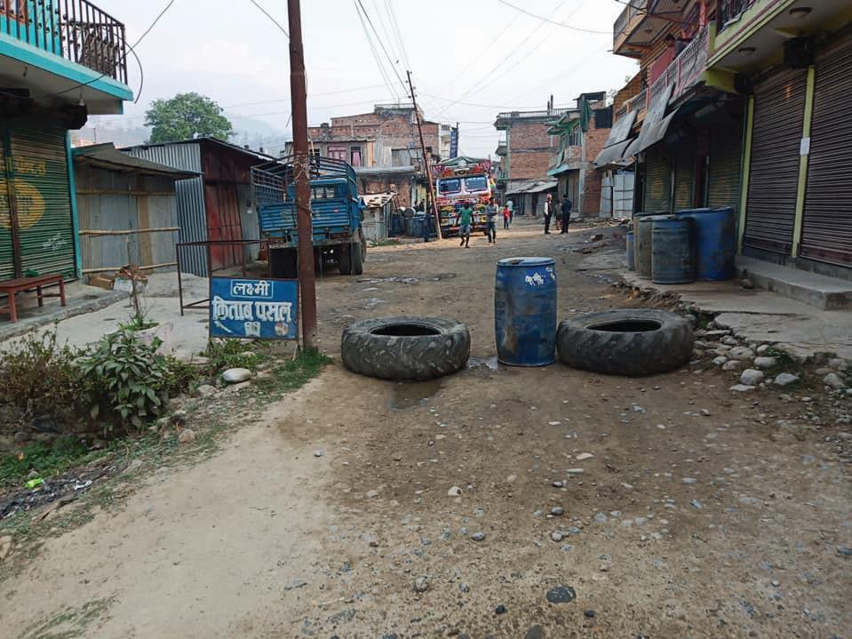 Protestors shut road, market over Budhi Gandaki compensation delays