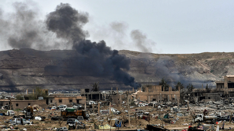 Over 50 IS militants killed by U.S.-led airstrikes in eastern Syria