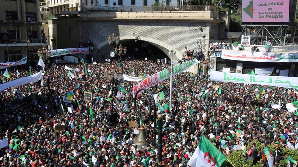 U.N. head wants democratic transition in Algeria
