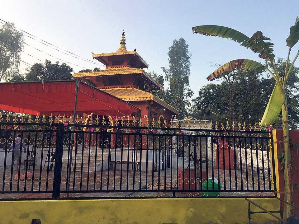 Shiva temple of Laxmana inaugurated on Mahashivaratri