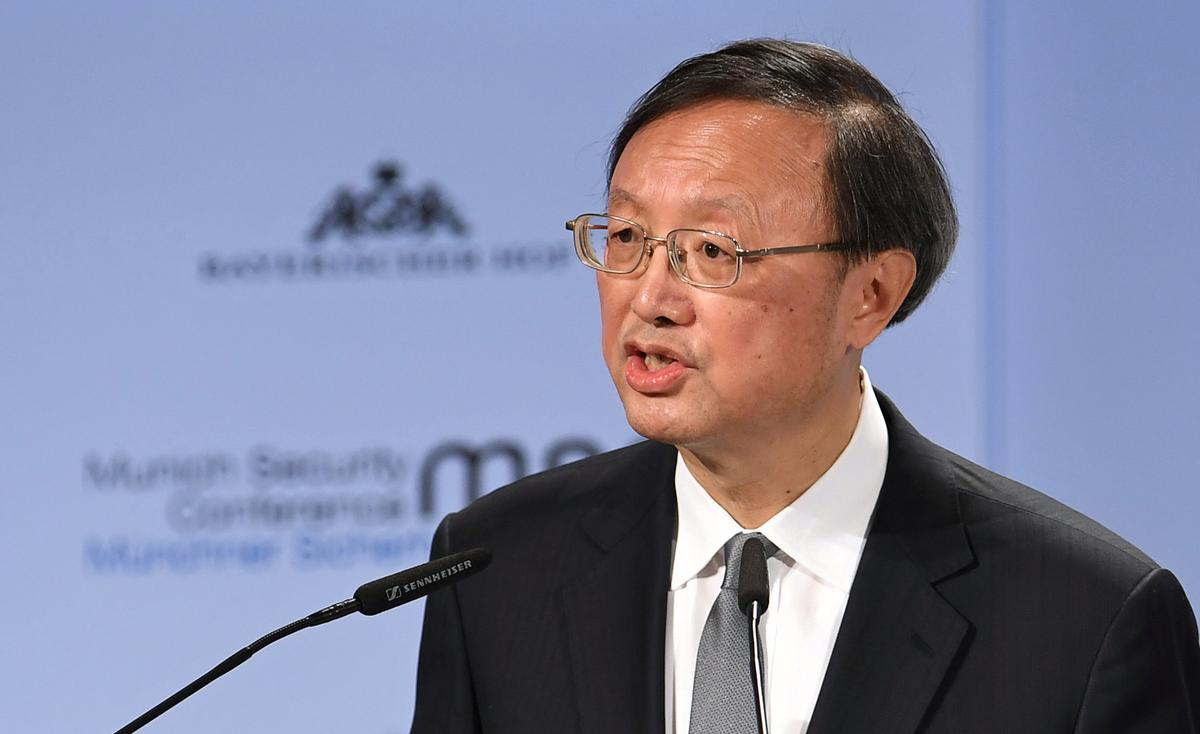 New Silk Road critics are 'prejudiced', China's top diplomat says