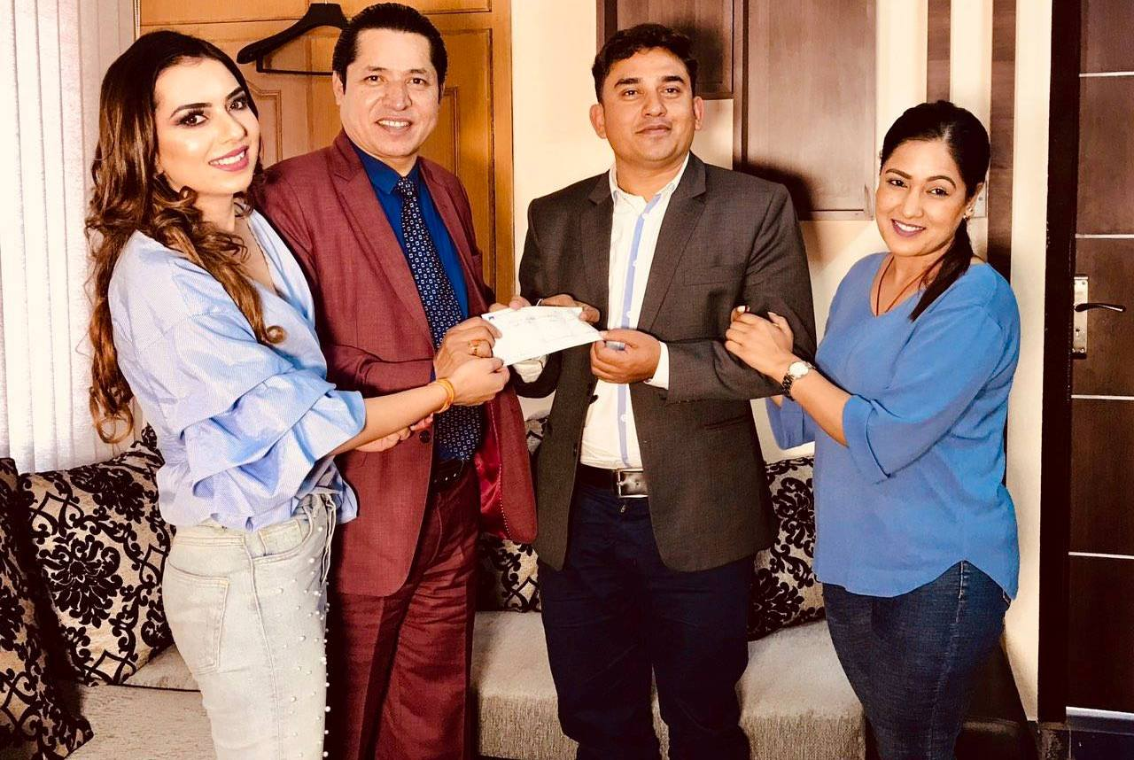 Dhamala couple to donate Rs 300,000 to Dhurmus Suntali Foundation