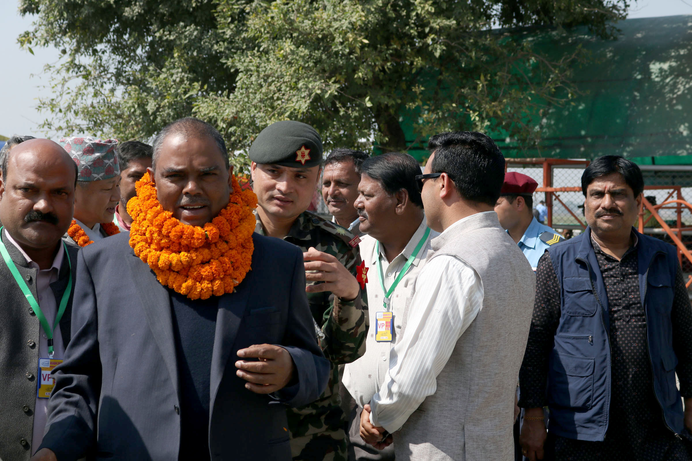DPM Yadav refutes speculations of quitting from the government