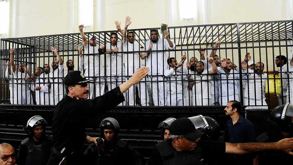 Egypt court sentences 30 men up to 25 years in jail over terror charges