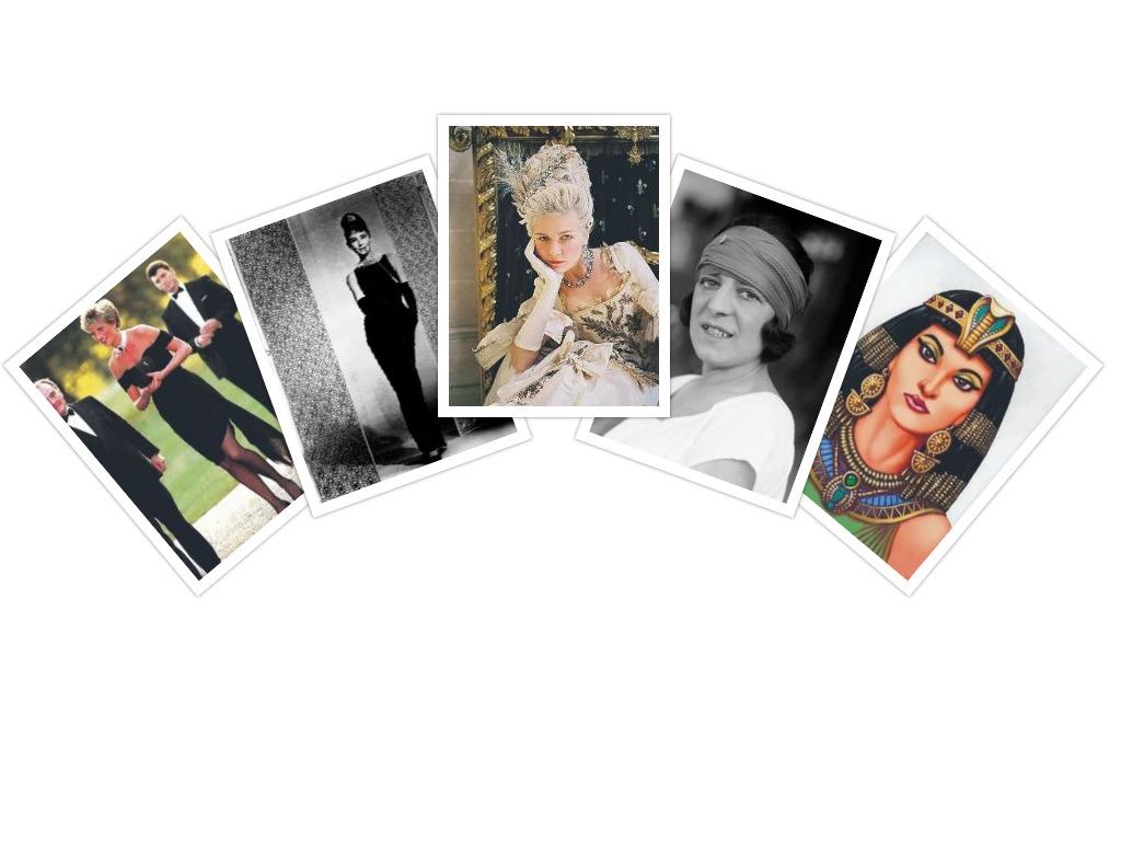 Fashionable women through history