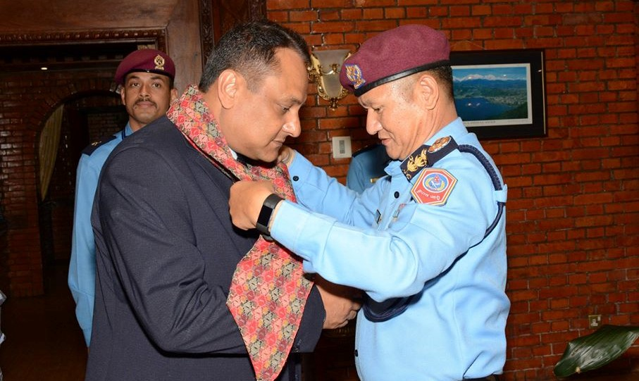IGP Khanal leaves for Thailand to participle in BIMSTEC meet