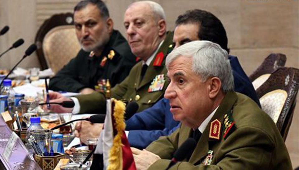 Syria, Iran, Iraq military chiefs discuss counter-terror, opening borders, restoring Syrian areas